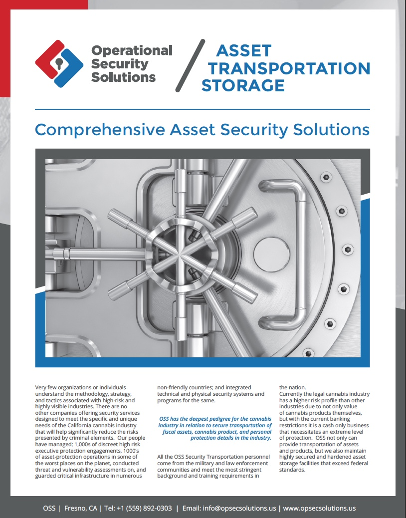OSS Asset Transportation & Storage